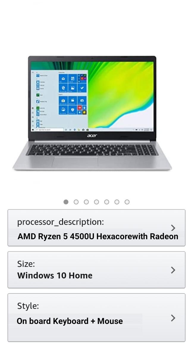 Acer Laptop Latest